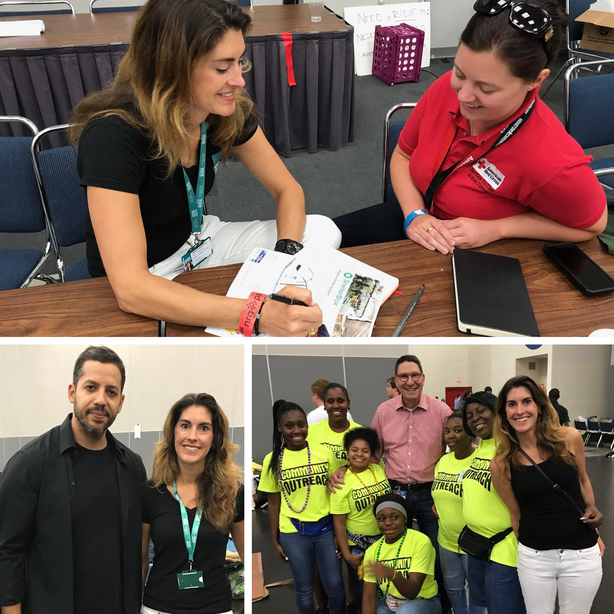 ShelterBox USA President Kerri Murray tours areas impacted by Harvey