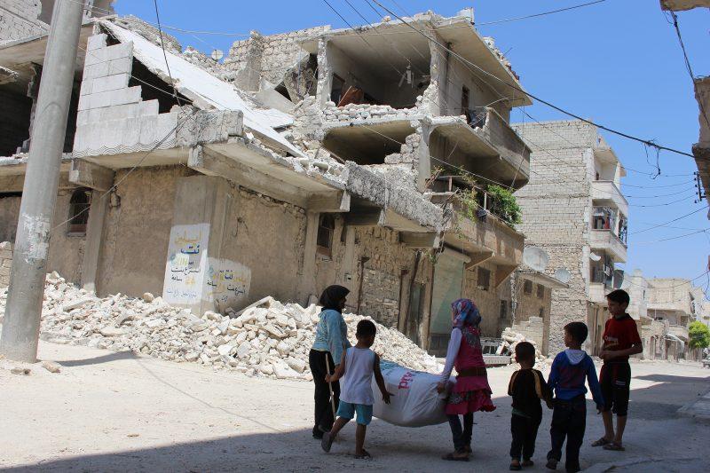 ShelterBox responding in Aleppo, Syria