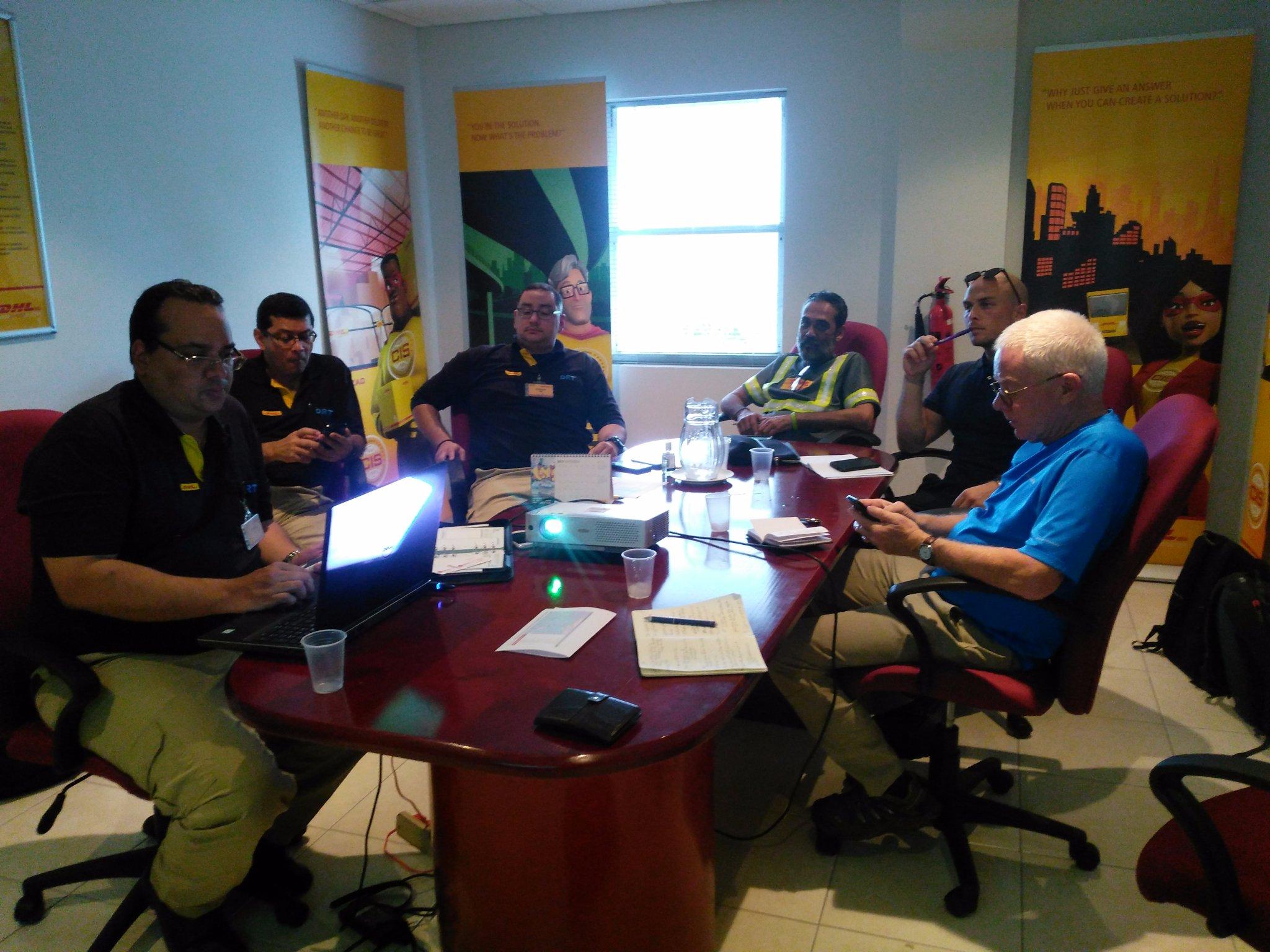 ShelterBox Team in Barbados 2017