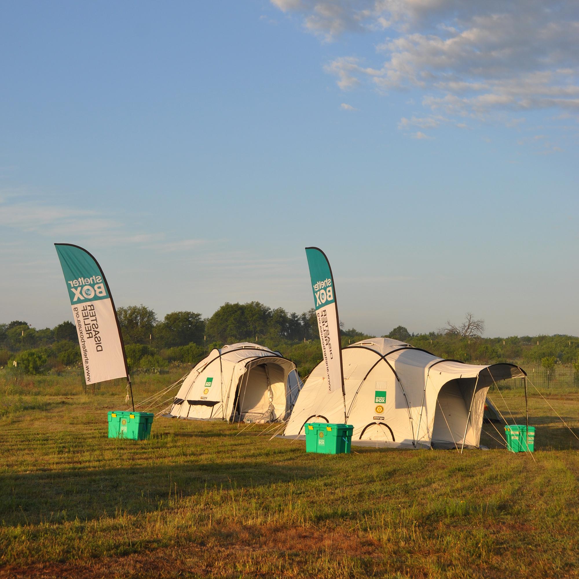 S.A.F.E. - ShelterBox Tents