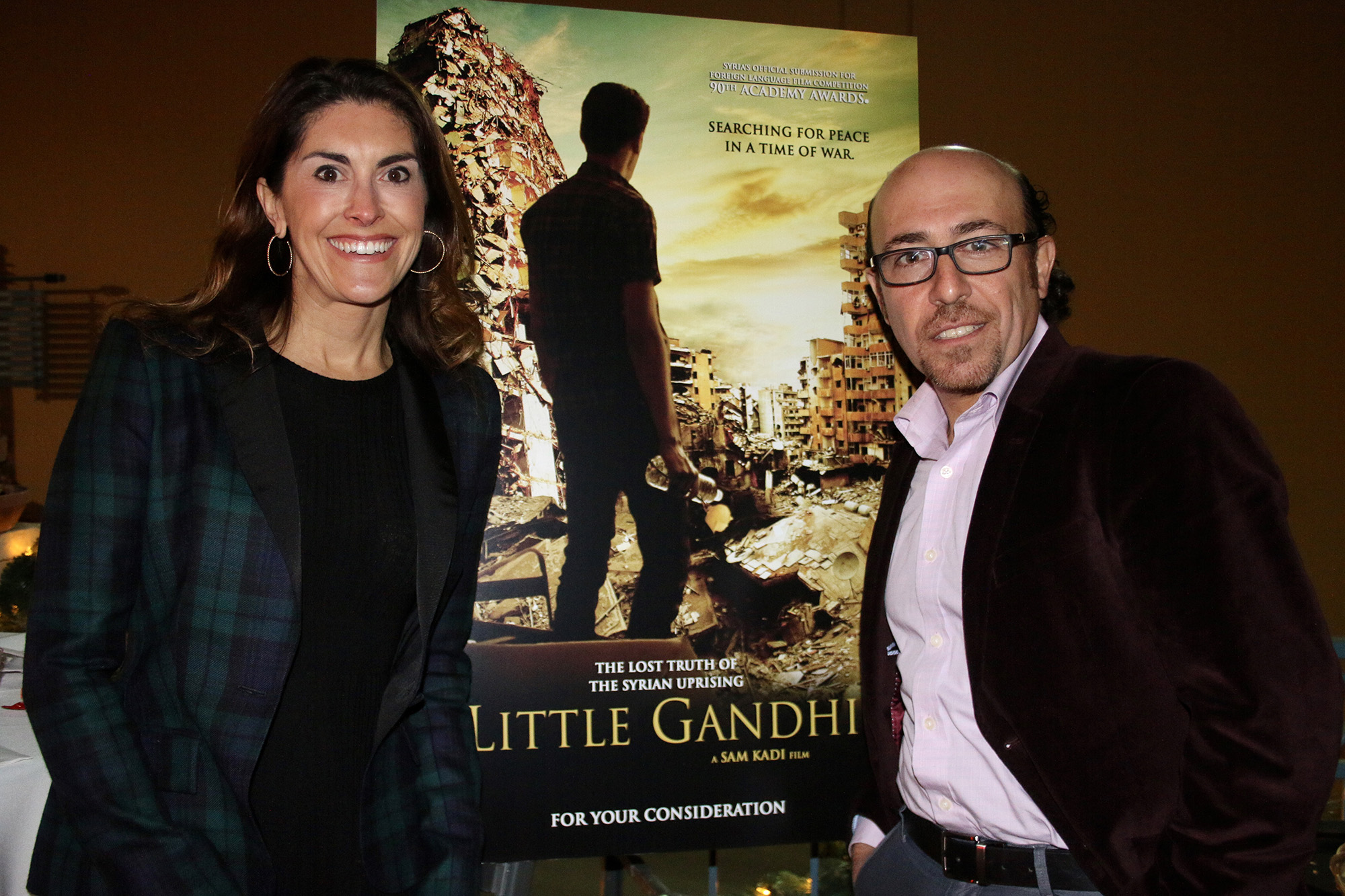 Little Ghandi - Kerri Murray and Sam Kadi