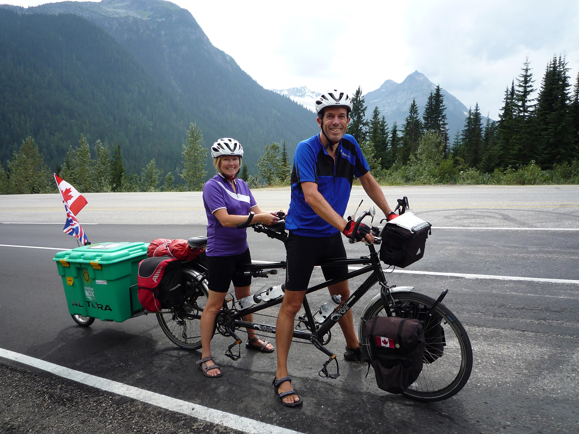 ShelterBox - Do Your Own Thing - Biking tandem