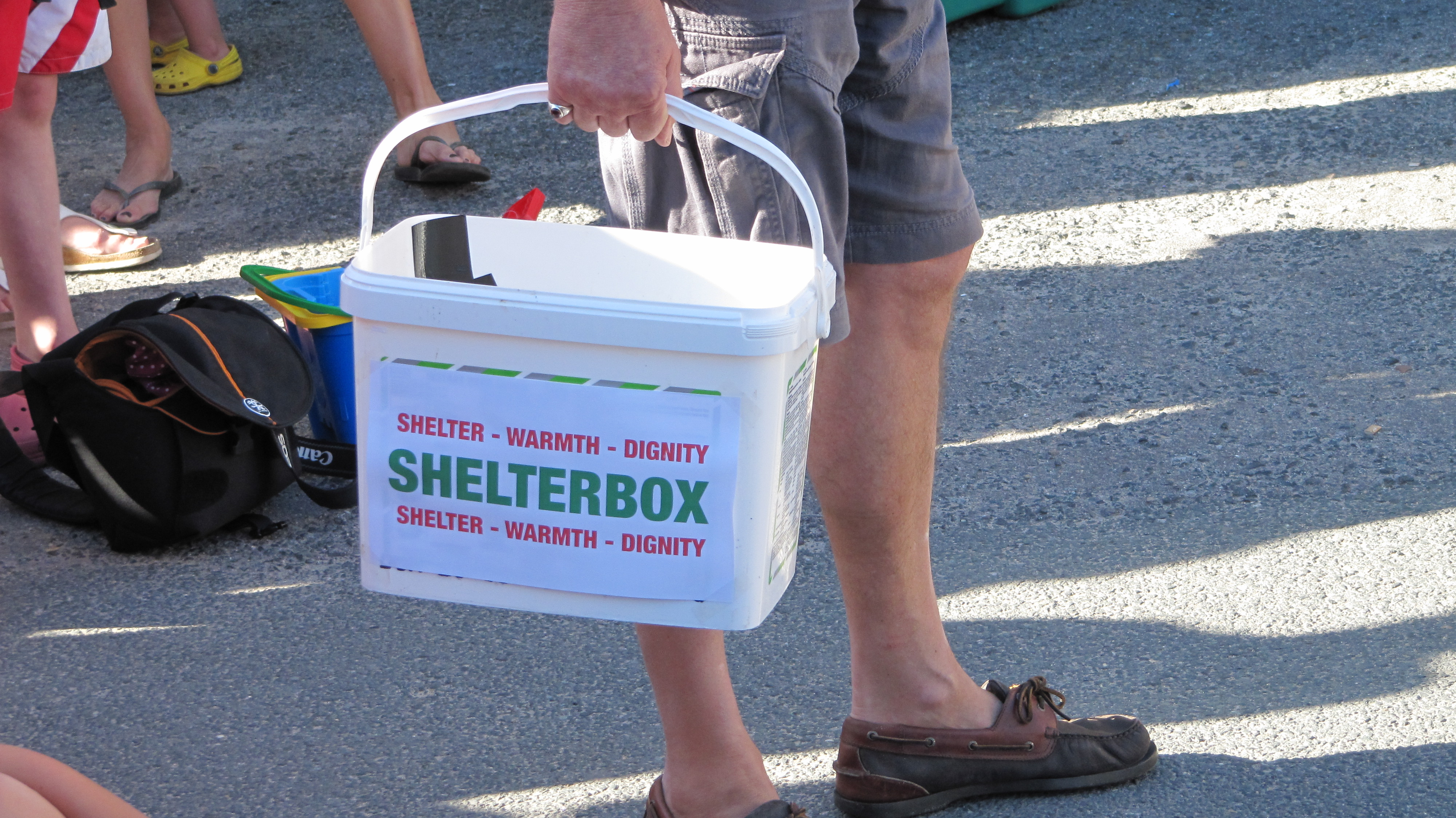 ShelterBox - Do Your Own Thing - Collection box