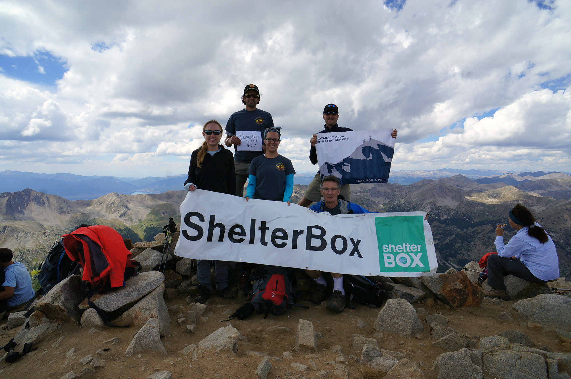 ShelterBox - Do Your Own Thing - Huron Peak