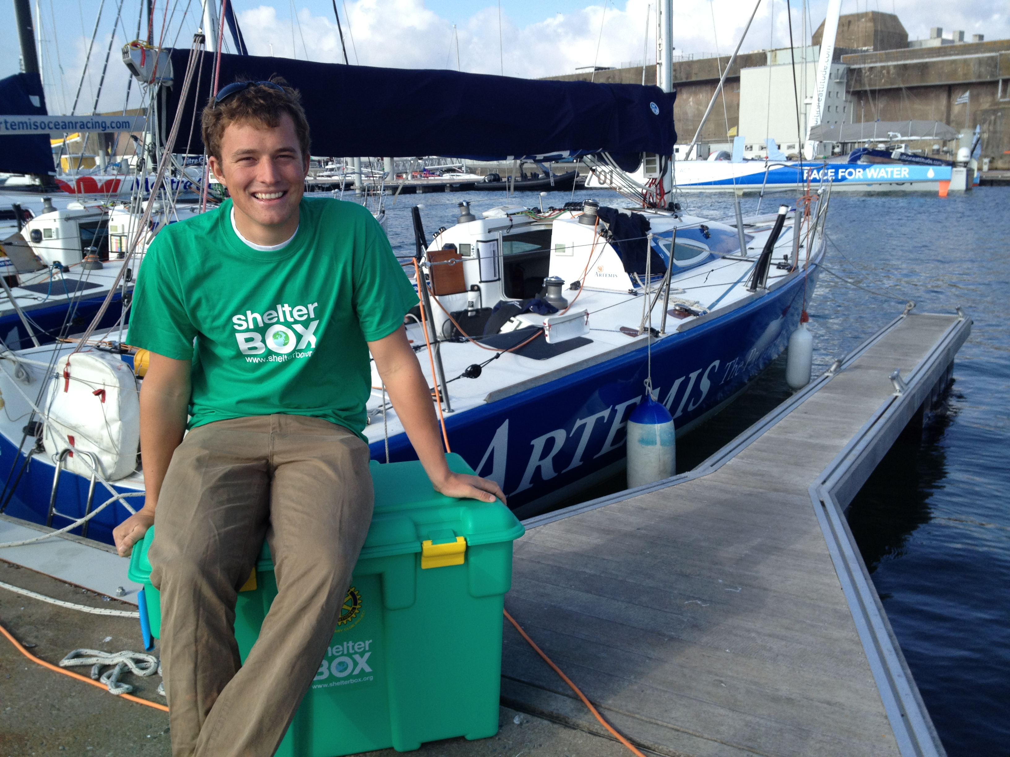 ShelterBox - Do Your Own Thing - solo sailing for ShelterBox