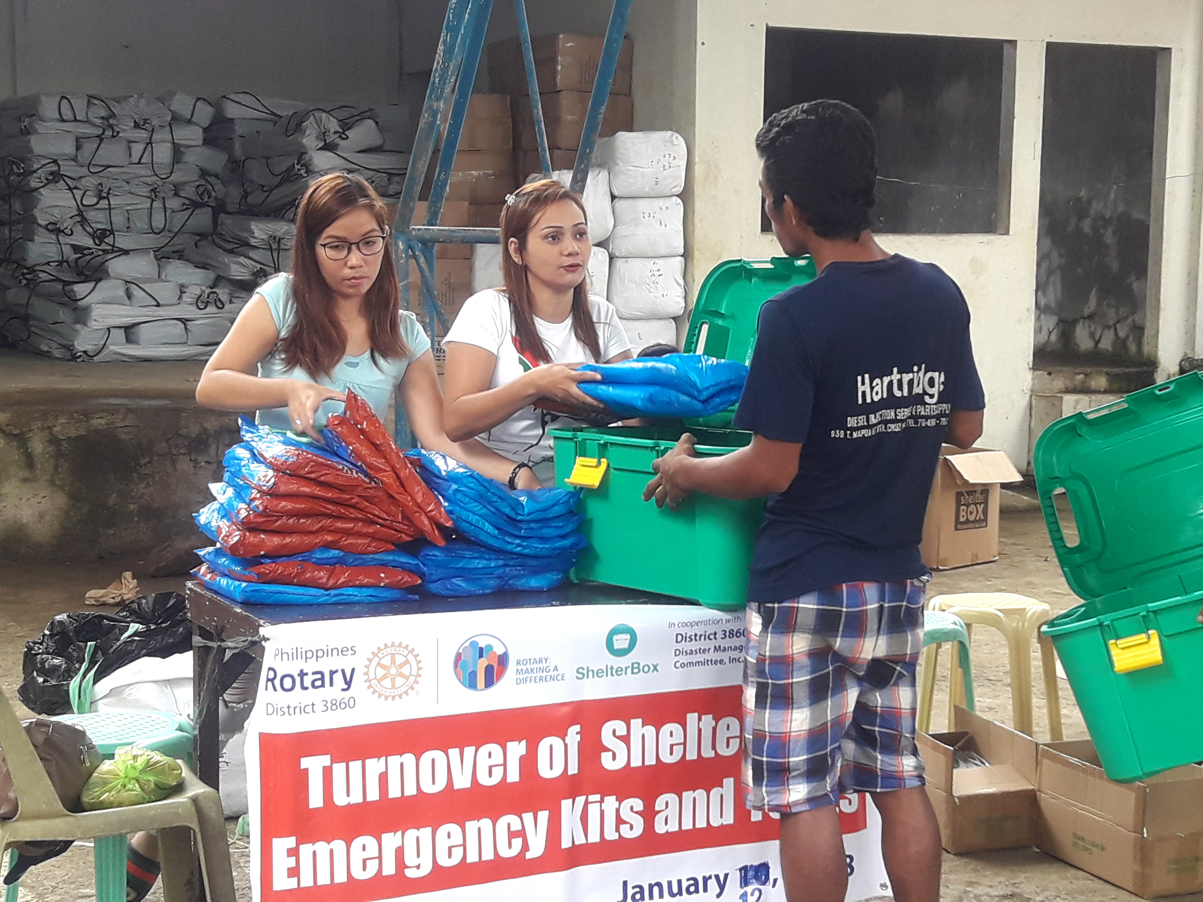ShelterBox Operations Philippines