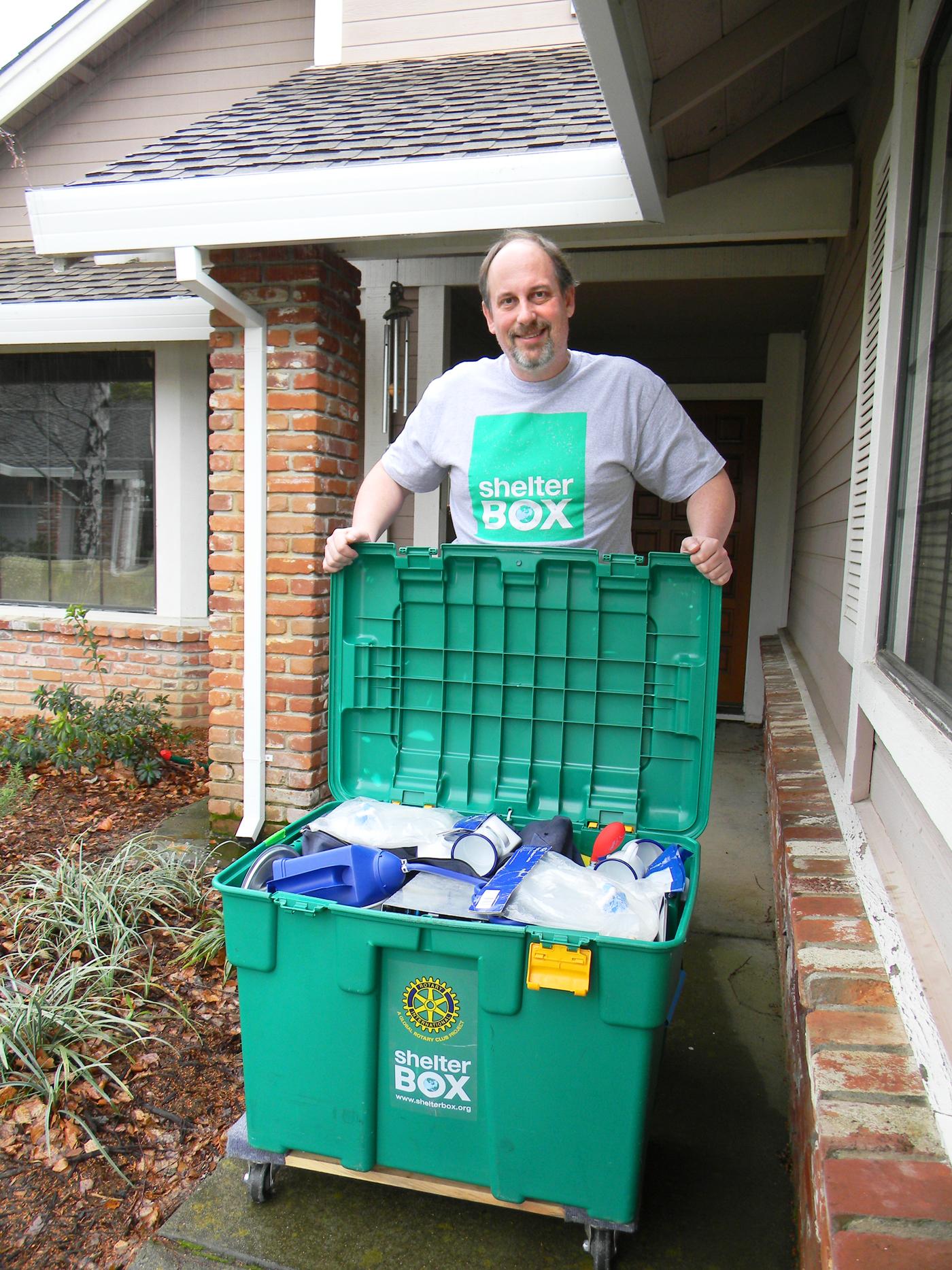 Bill Tobin, ShelterBox Ambassador (volunteer)