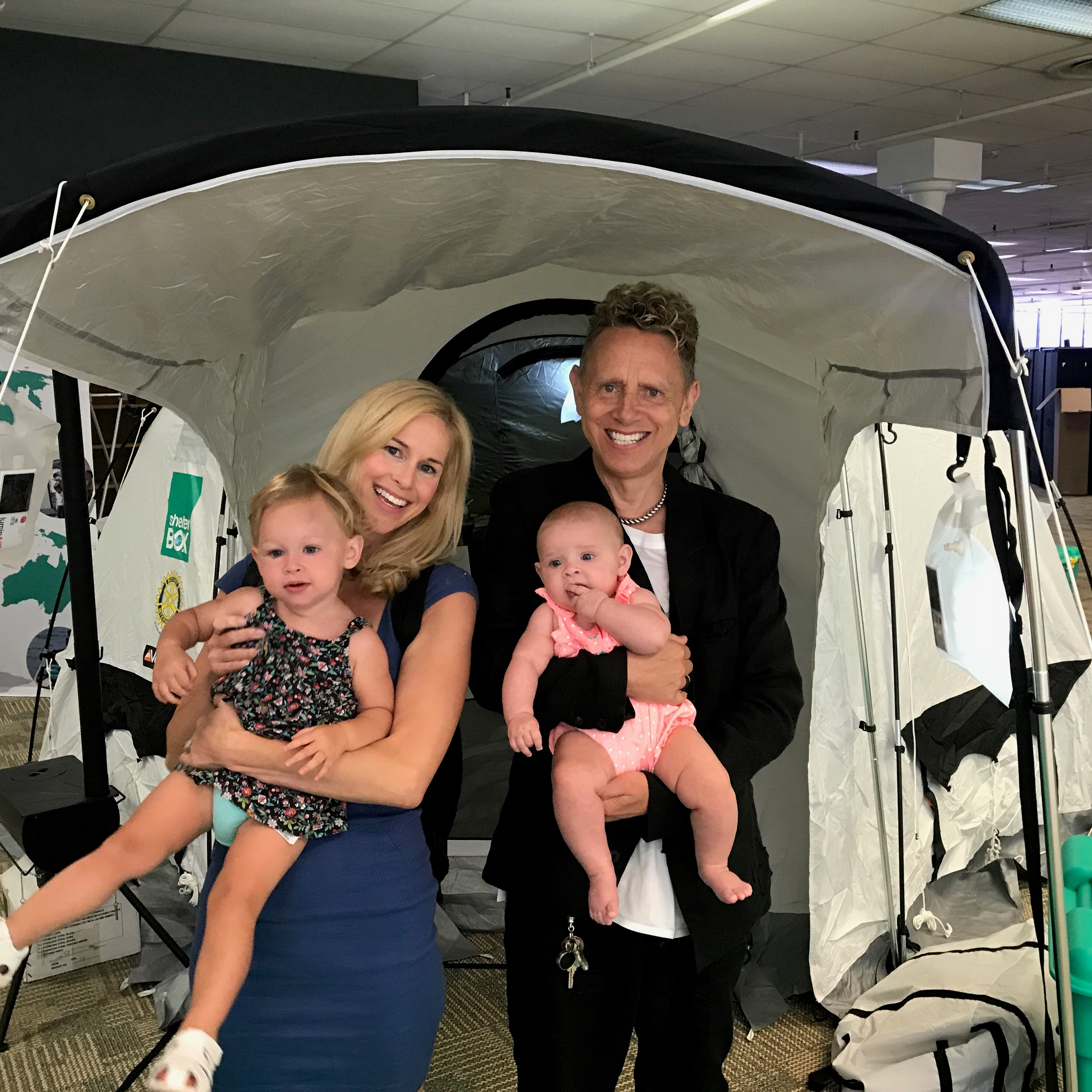 Martin Gore and Family