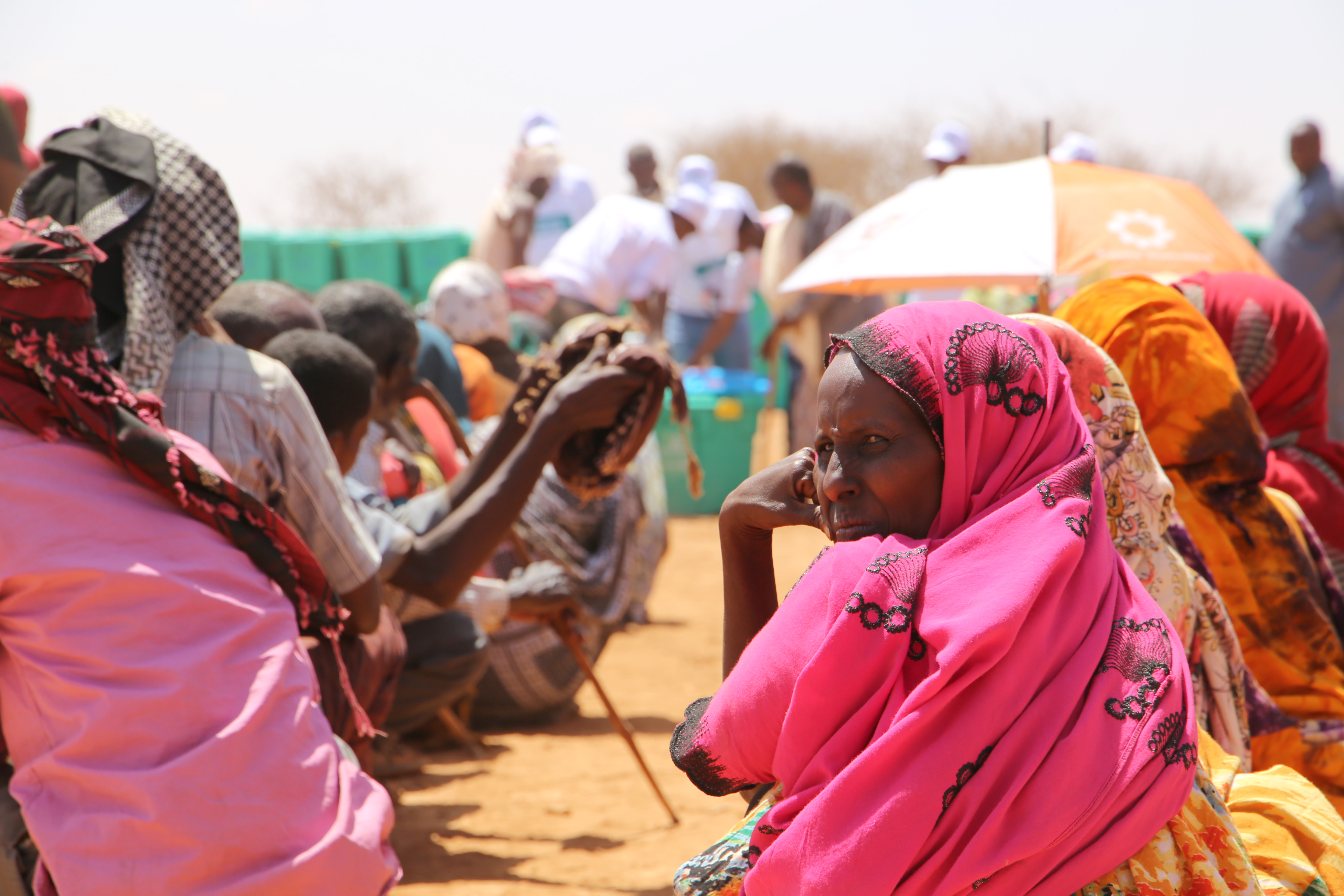Somaliland Drought 2018 - aid distribution