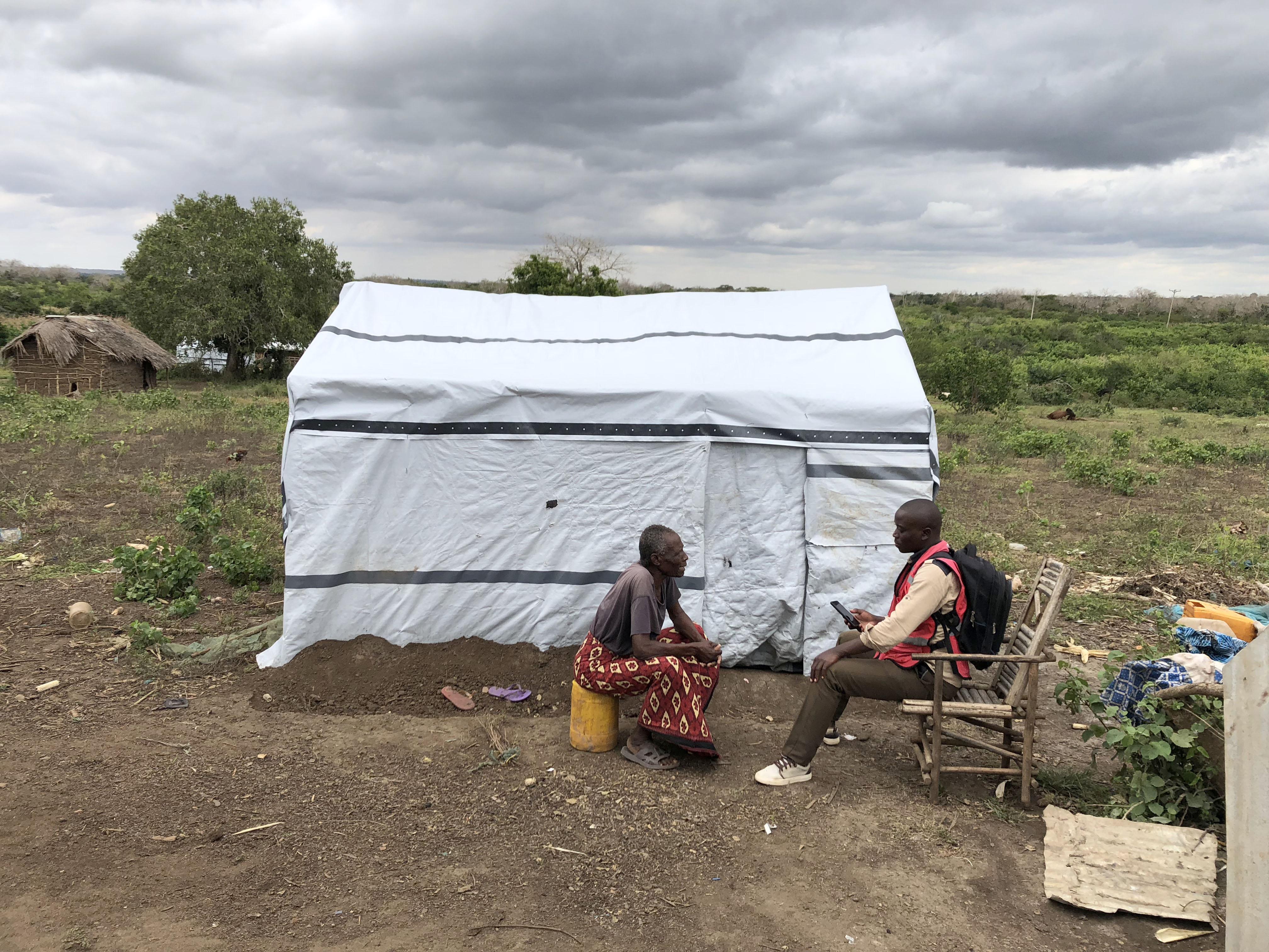 Post-distribution monitoring in Kenya