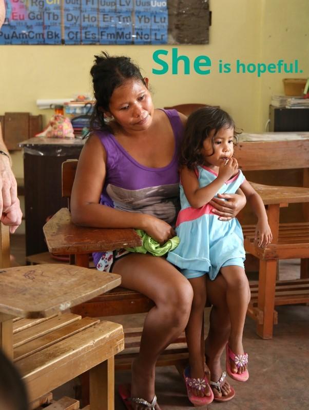 She is hopeful