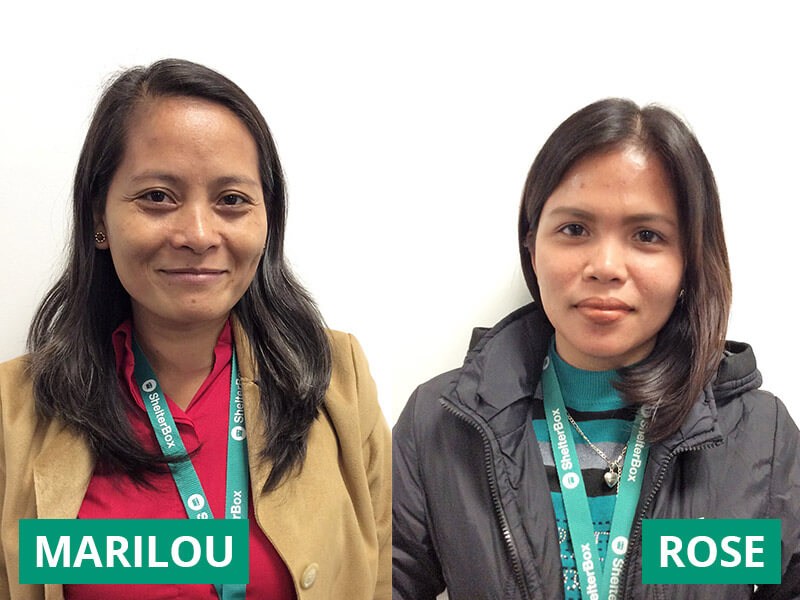 SB Philippines Staff Members: Marilou and Rose