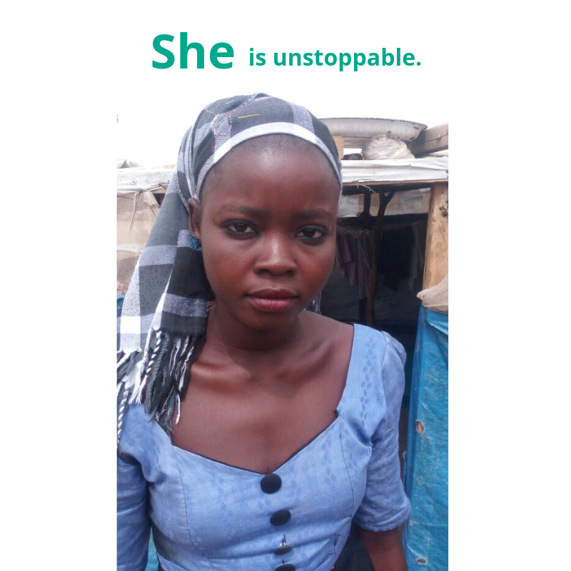 She is unstoppable