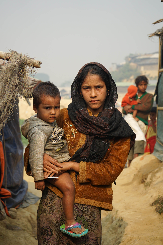 Yazida and her child