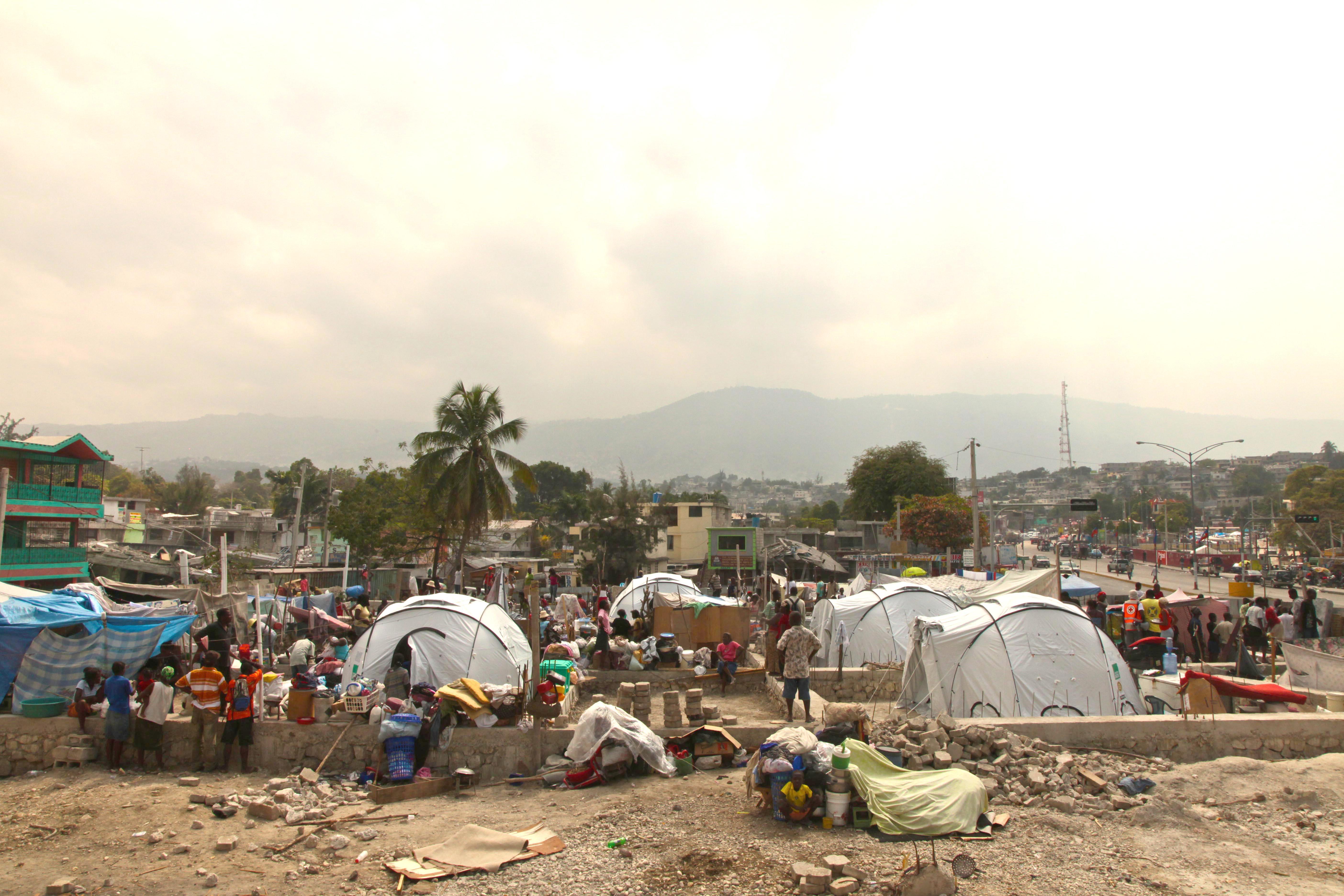 Tents After Haiti Earthquake