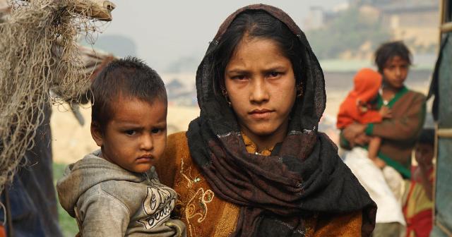 Harsh conditions in Myanmar