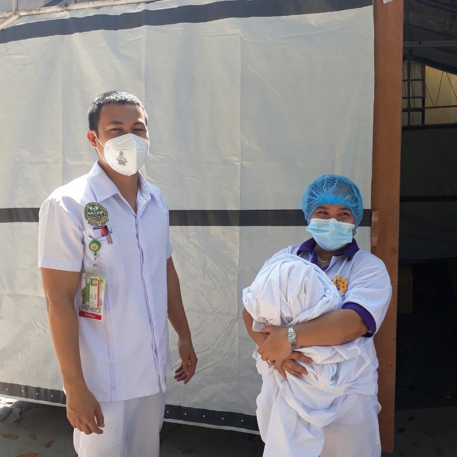 Medical staff working hard to keep everyone healthy