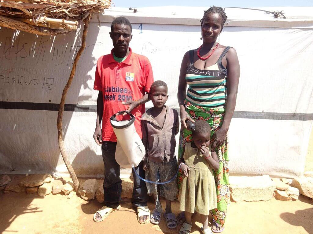 Tshamaya and his family