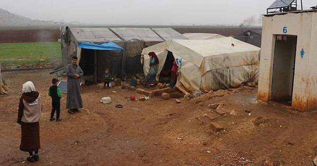 Harsh Conditions in Syrian Camp
