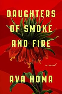 Daughters of Smoke and Fire Cover showing flower