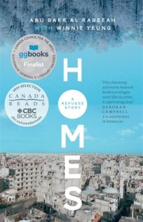 Homes book cover showing city skyline