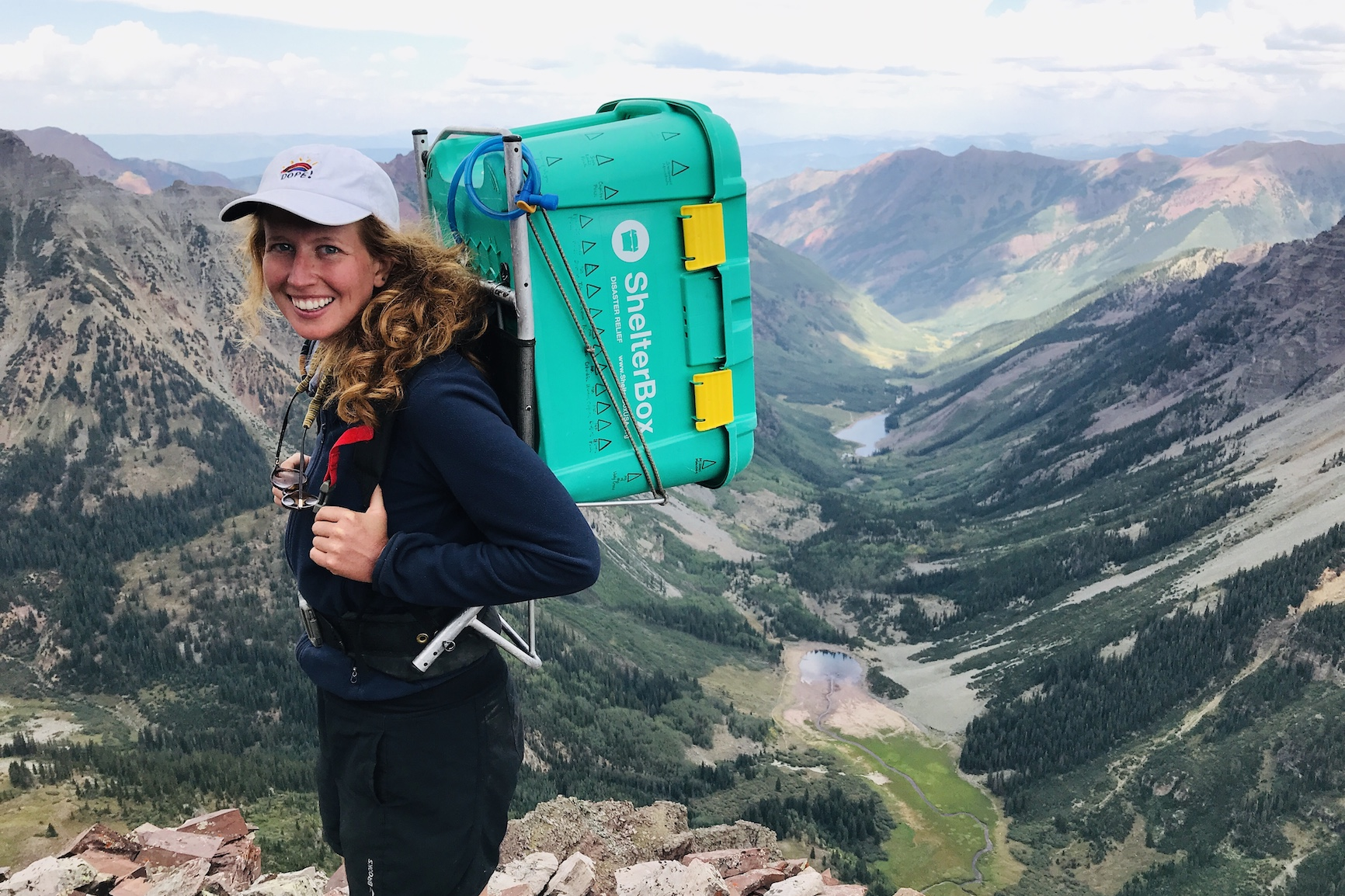Climbing for a Cause, the Fourteeners Project