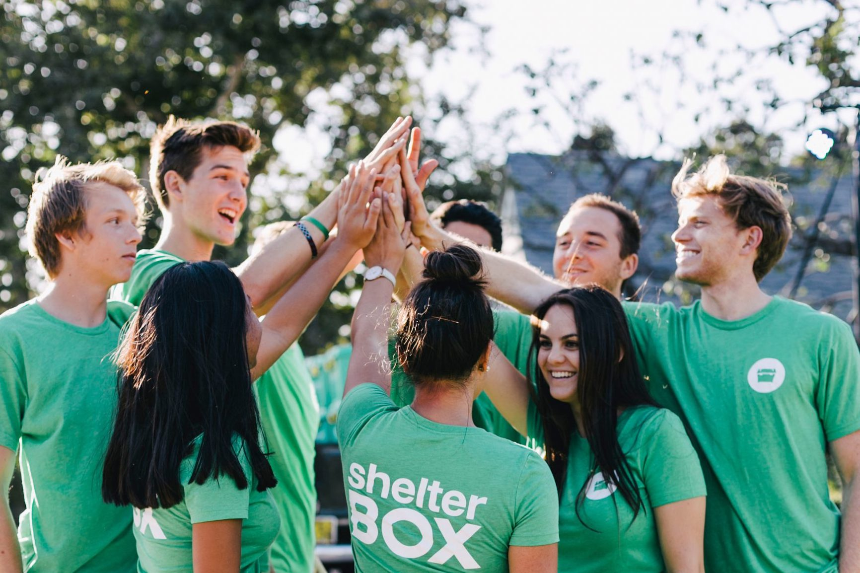 Shelterbox Volunteers