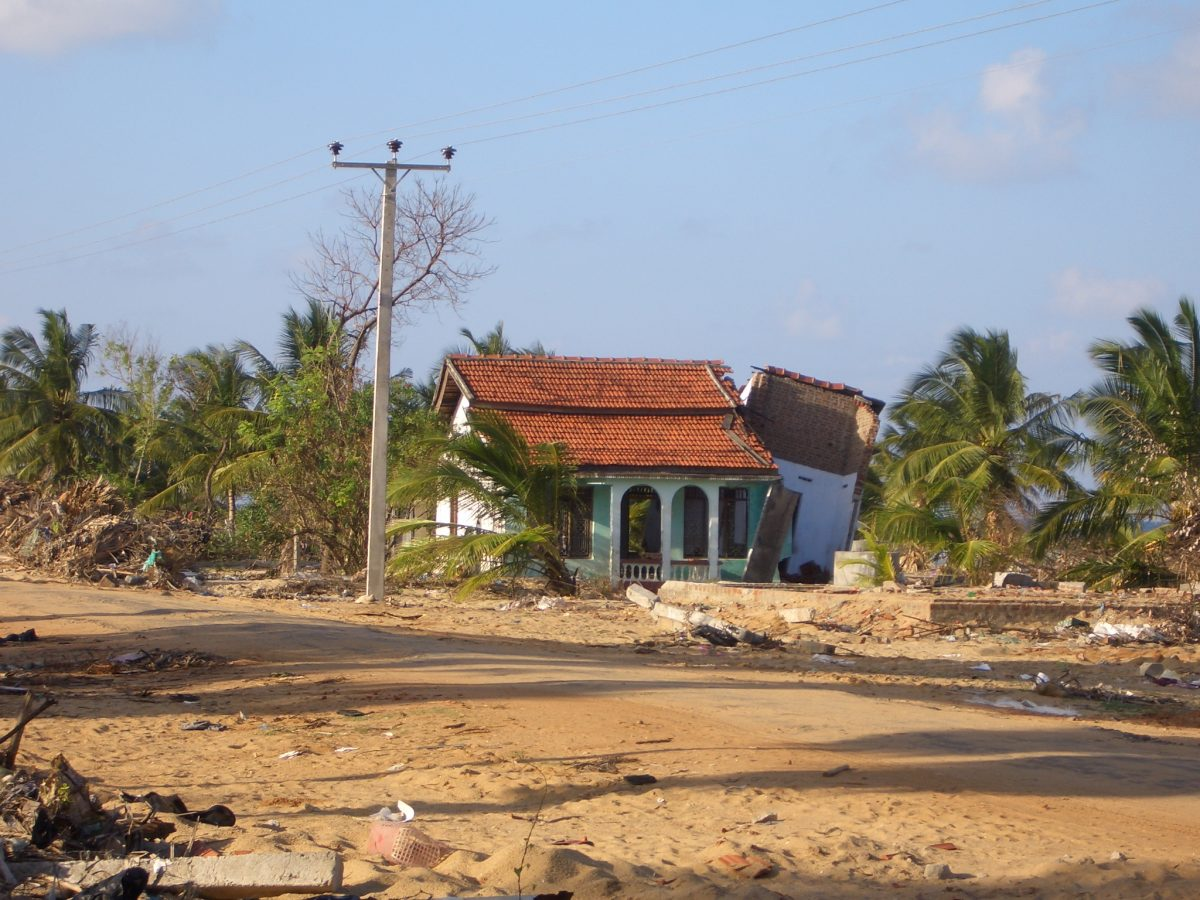 Effects of the Tsunami on the town
