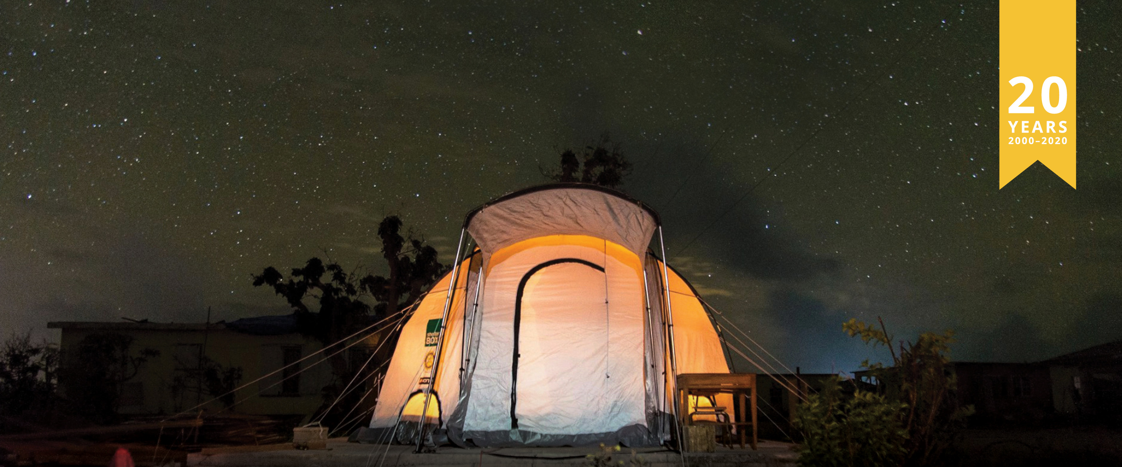 Evening to Experience ShelterBox