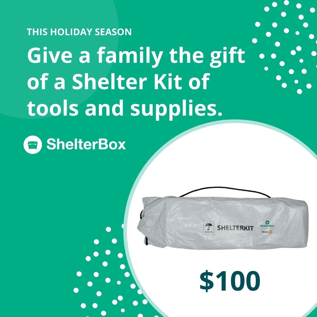 Shelter Kit $100