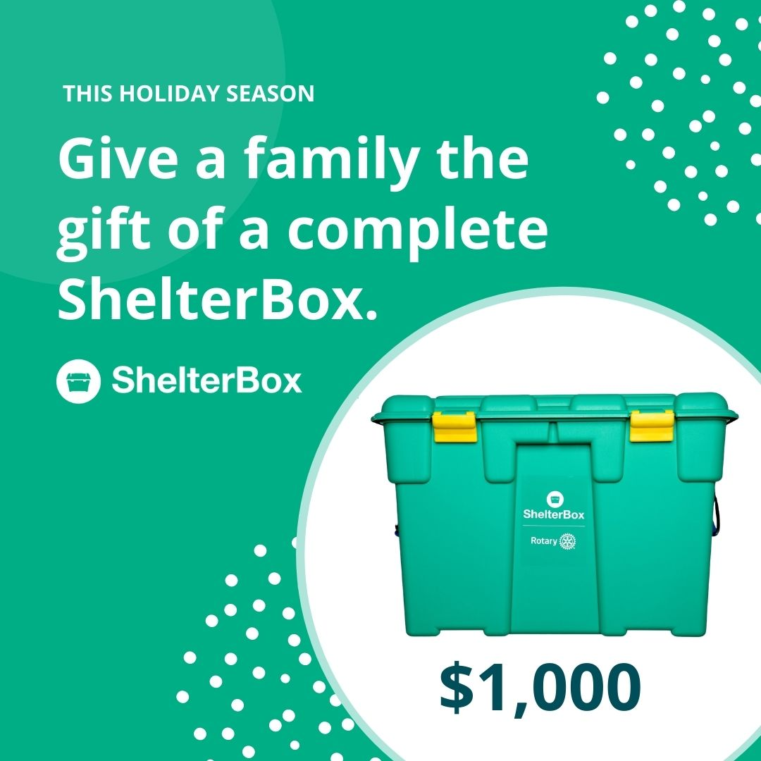 A complete Shelterbox $1000