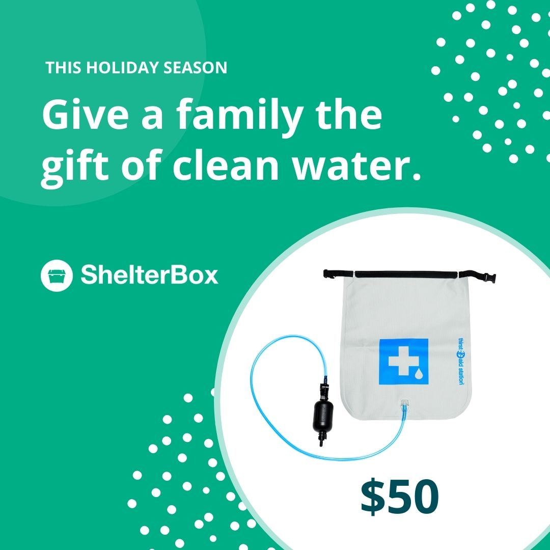 Clean water $50