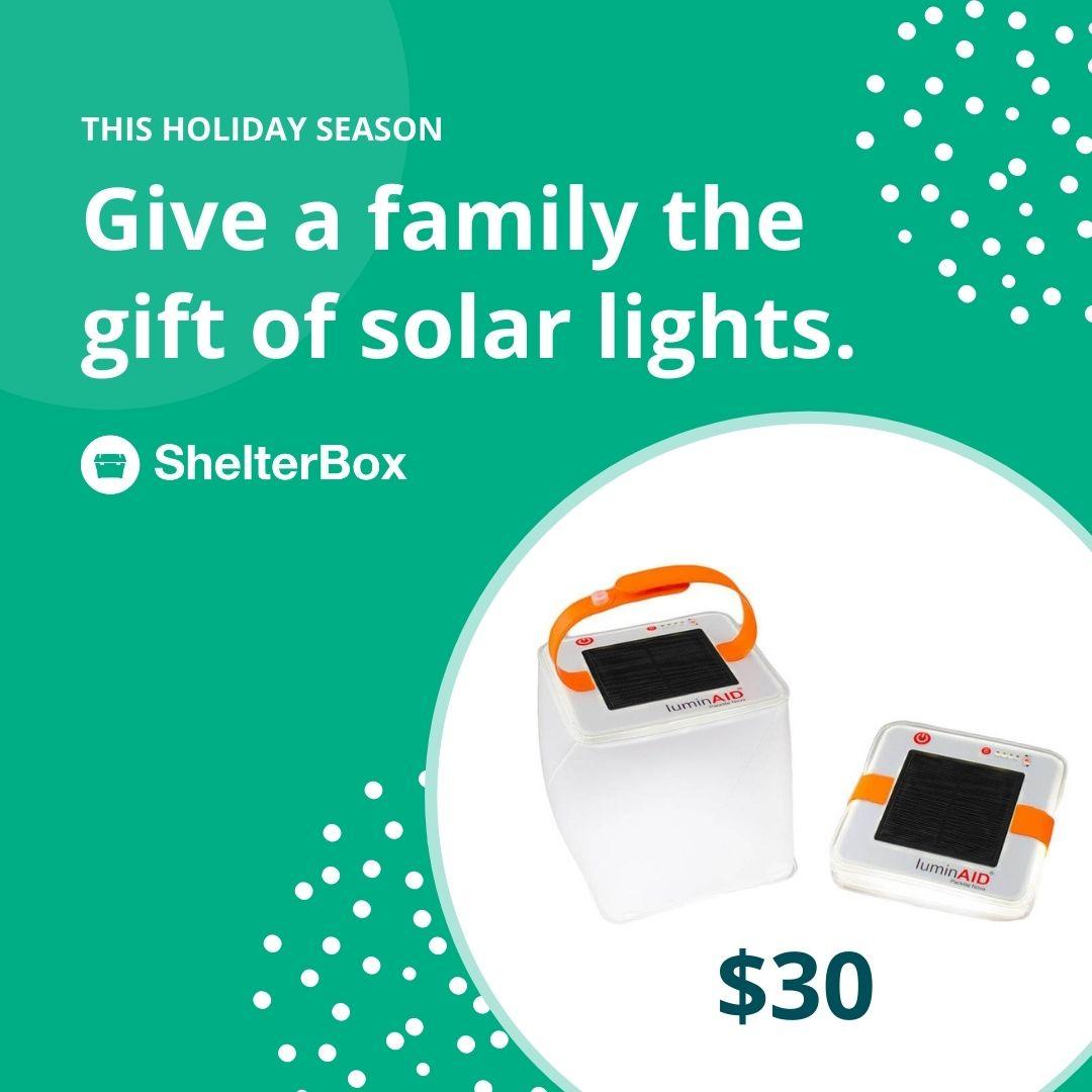 Gift of light $30