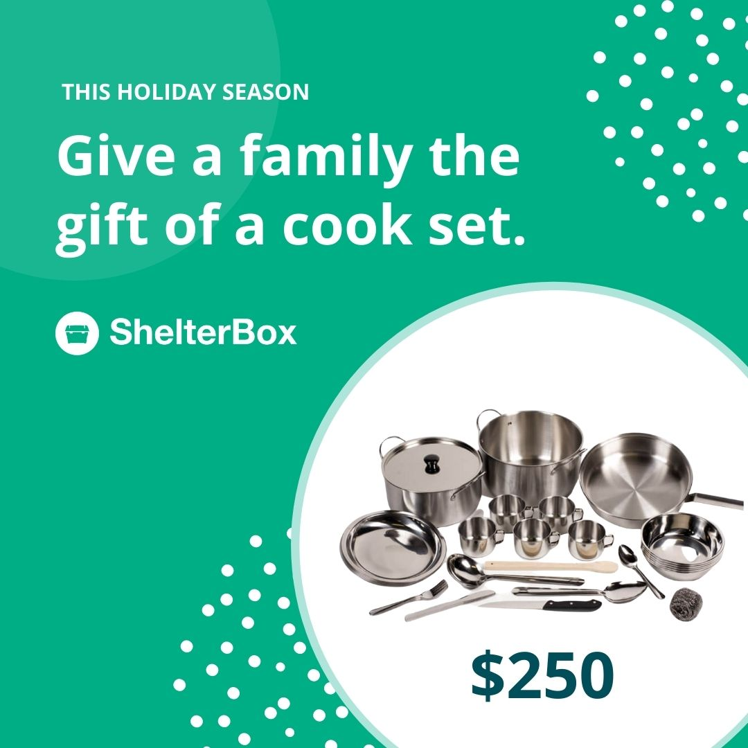 Gift of a cook set $250
