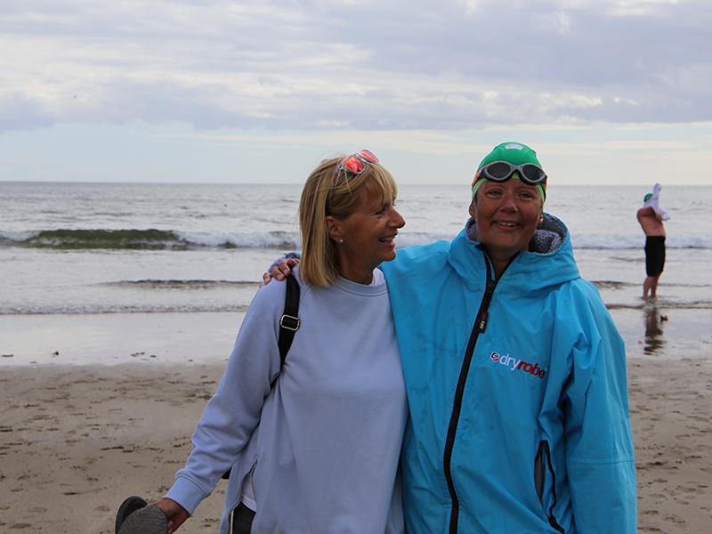 Lauren and her Mum