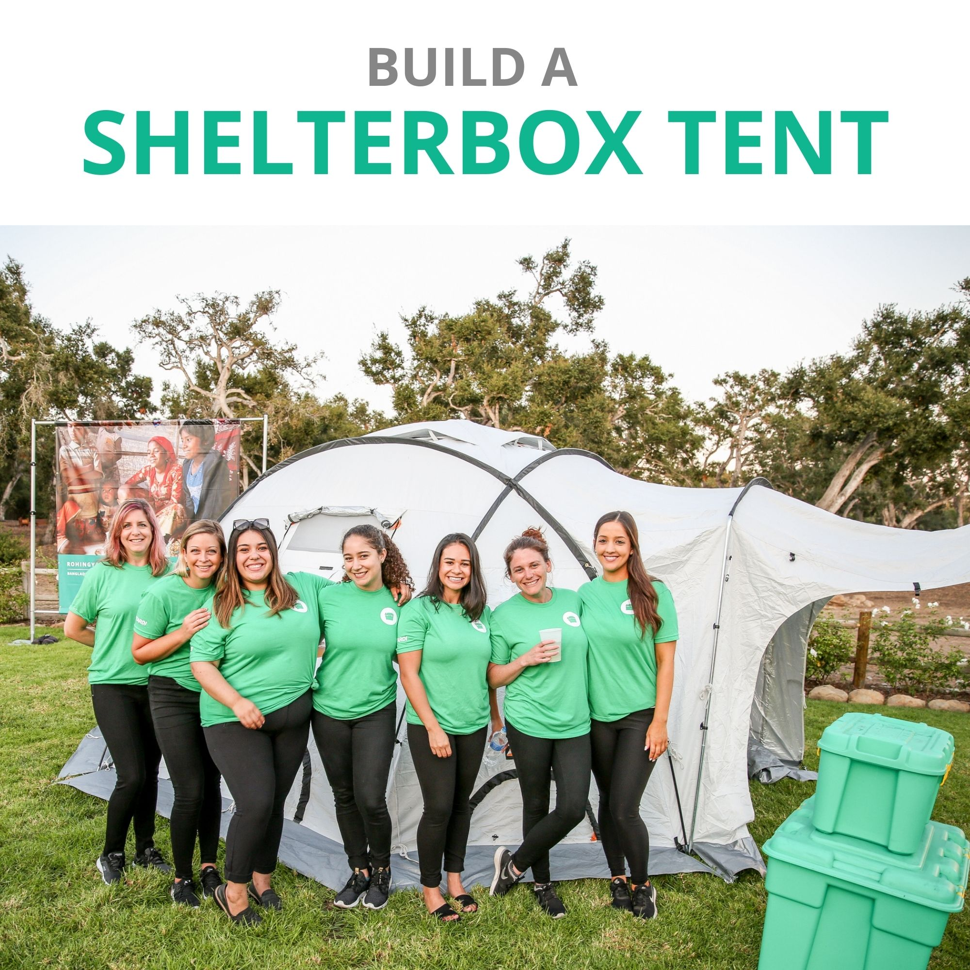 Build a ShelterBox Tent