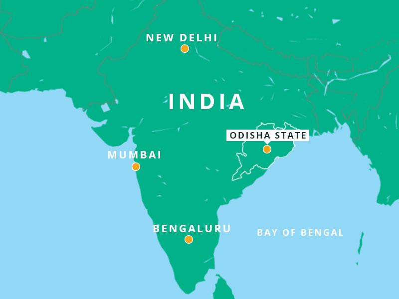 Map of Indian Peninsula