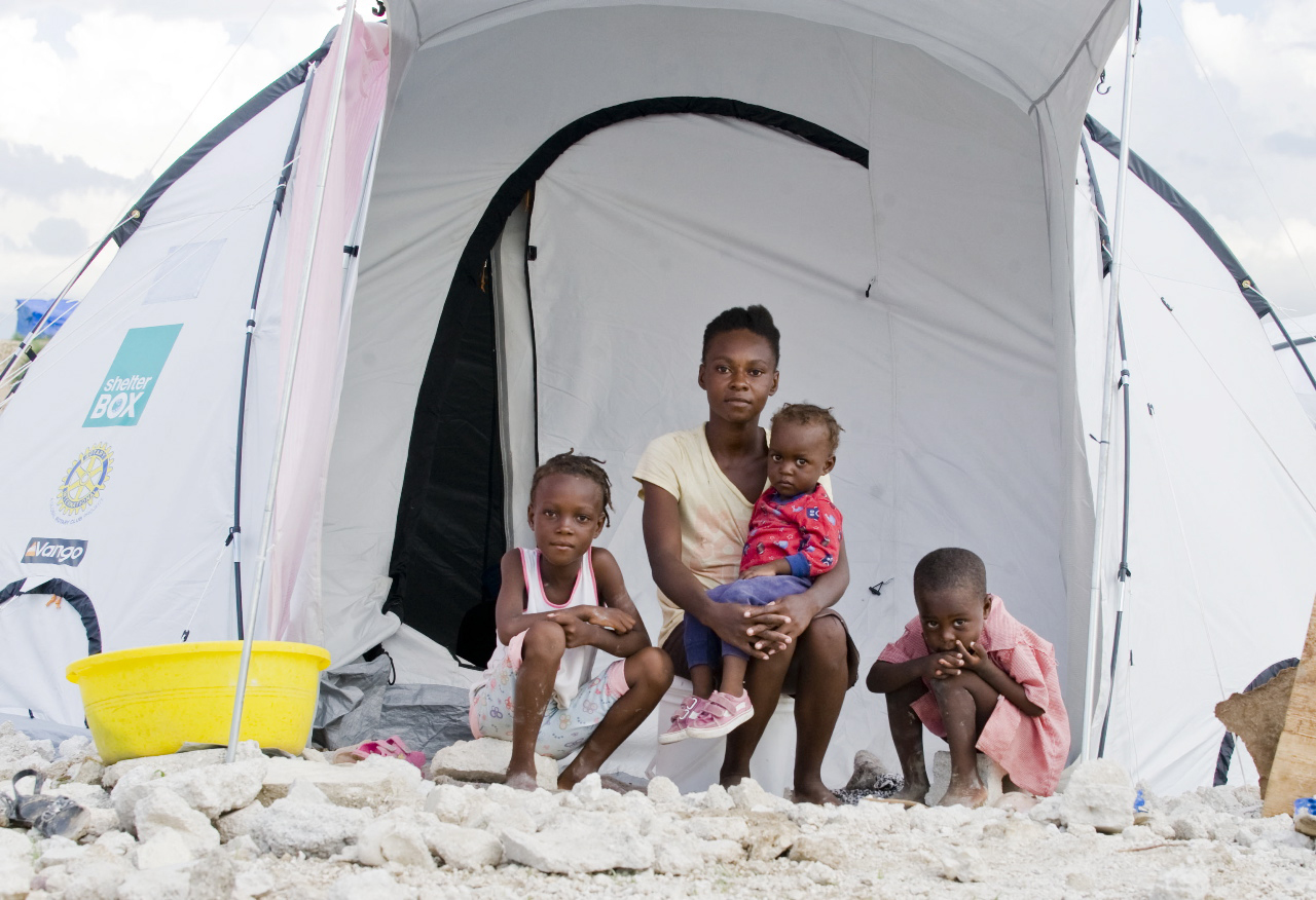 Taking Shelter after the Haiti earthquake
